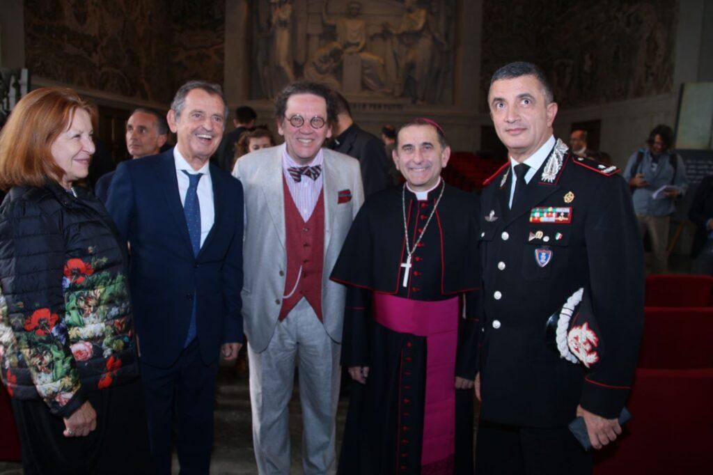 Gustavo Cioppa, Philippe Daverio, Mario Delpini